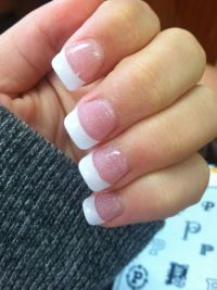 25+ best ideas about Sparkly French Tips on Pinterest ...