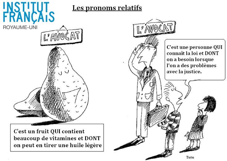 98 best images about Pronoms français on Pinterest