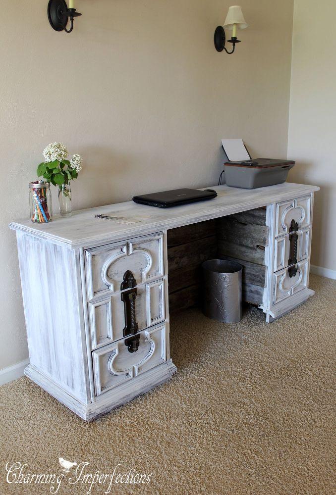 Dresser to Desk Transformation  Dresser and Desks