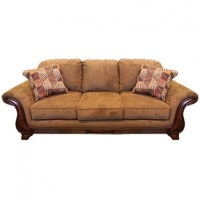 ASHLEY MONTGOMERY MOCHA SOFA Gallery Furniture #