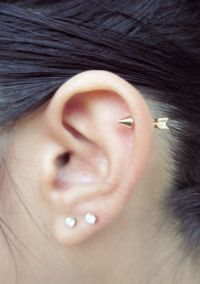 Best 20+ Cartilage piercing stud ideas on Pinterest ...