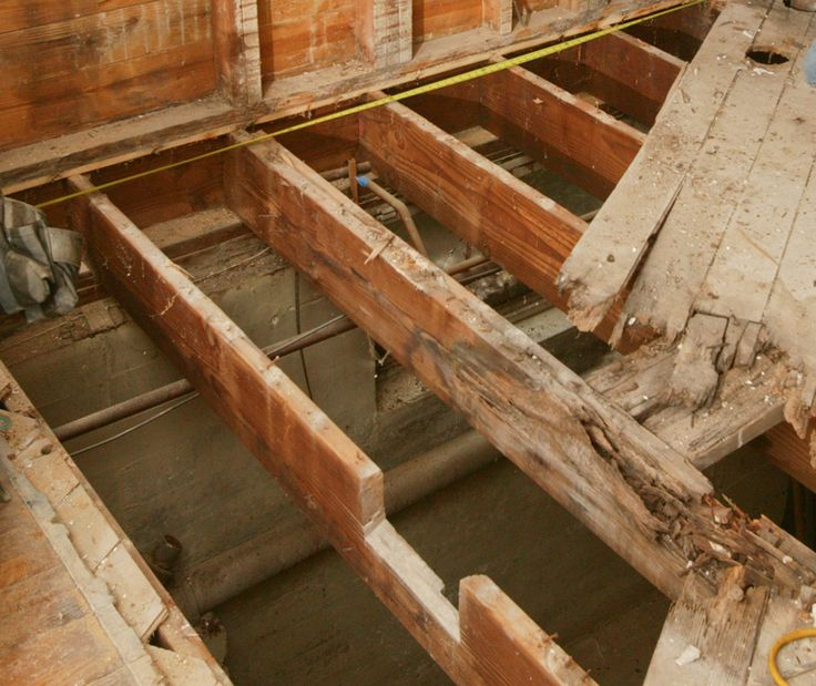 How To Repair A Butchered Floor Joist Woodworking Tips