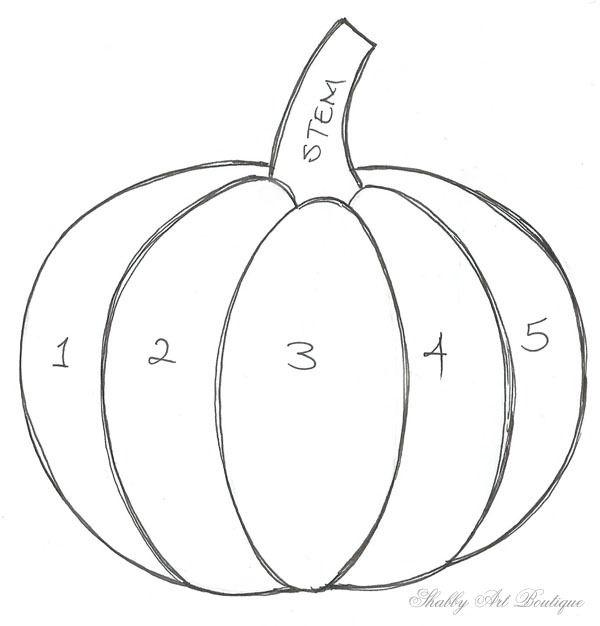 25+ best Fabric pumpkins ideas on Pinterest