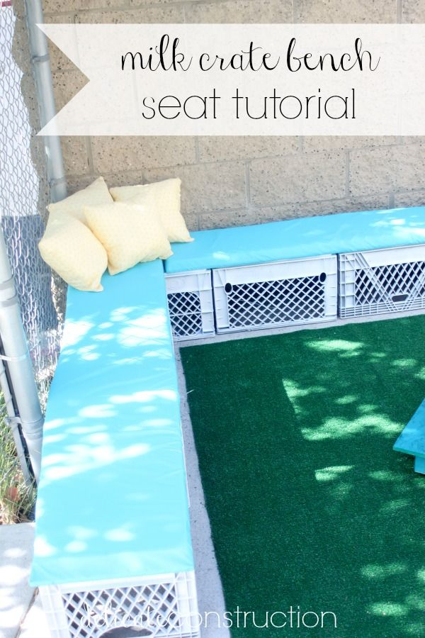 diy classroom chair covers tufted club 17 best ideas about milk crate seats on pinterest | seating, throw pillow and ...