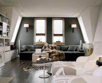 Simple Charcoal Accent Wall | Accent Walls | Pinterest ...