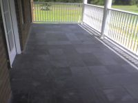 Slate tile porch | Exterior | Pinterest | Slate tiles ...