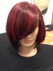 red hair short haircut bob hairstyle