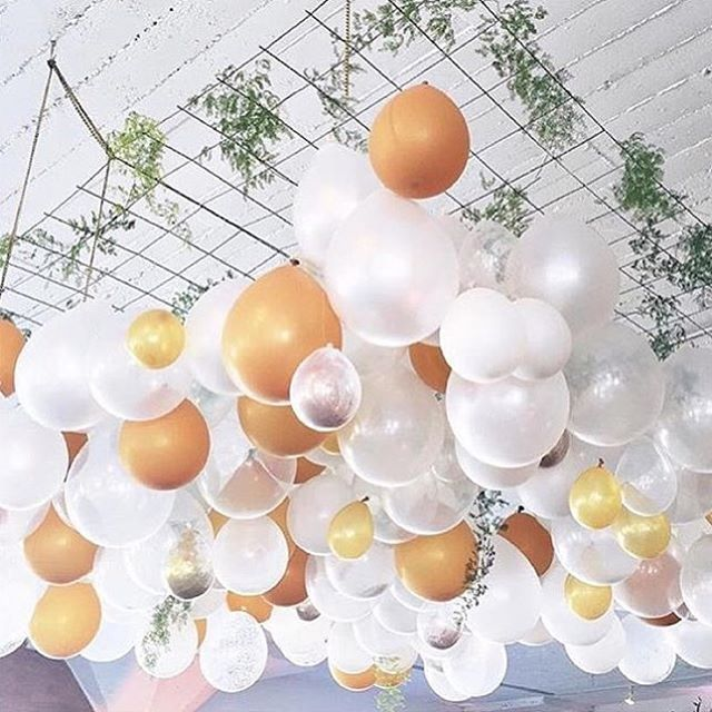 25 Best Ideas about Balloon Ceiling Decorations on