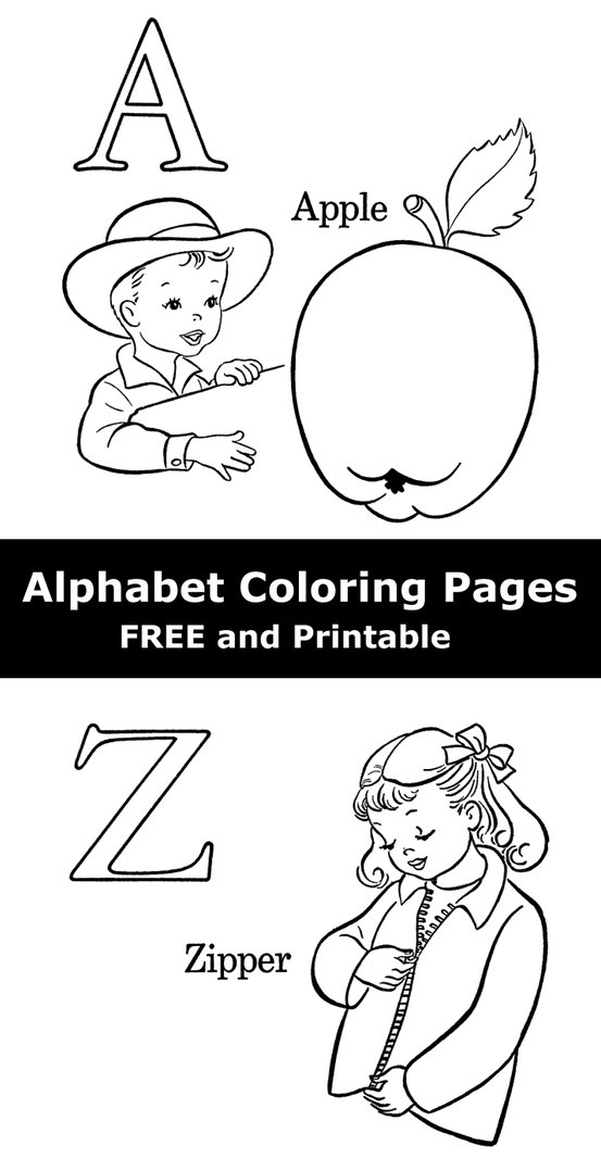 17 Best ideas about Alphabet Coloring Pages on Pinterest
