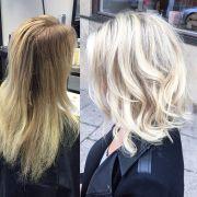 ideas messy blonde