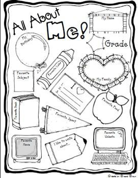 25+ best ideas about All About Me Poster on Pinterest