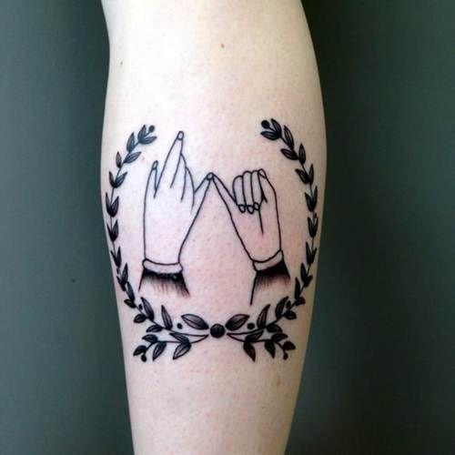 25+ best Pinky Promise Tattoo ideas on Pinterest