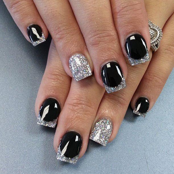 Best 25+ Silver nail art ideas on Pinterest