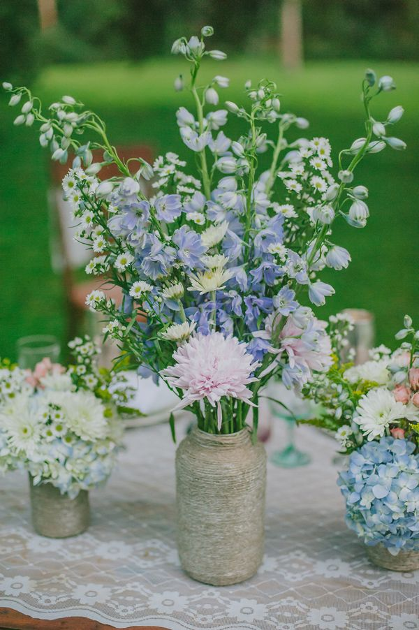 Enchanting Boho Chic Wedding Inspiration  Jars