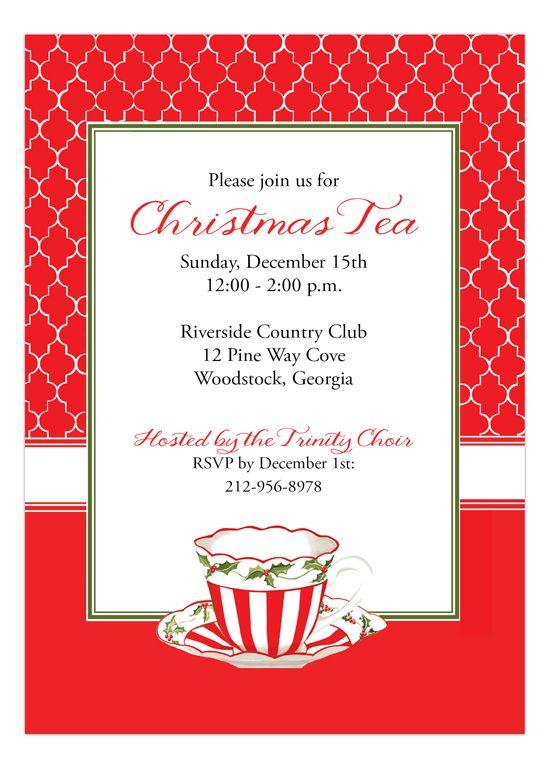 Creative Wording Invitations Christmas Christmas Ideas