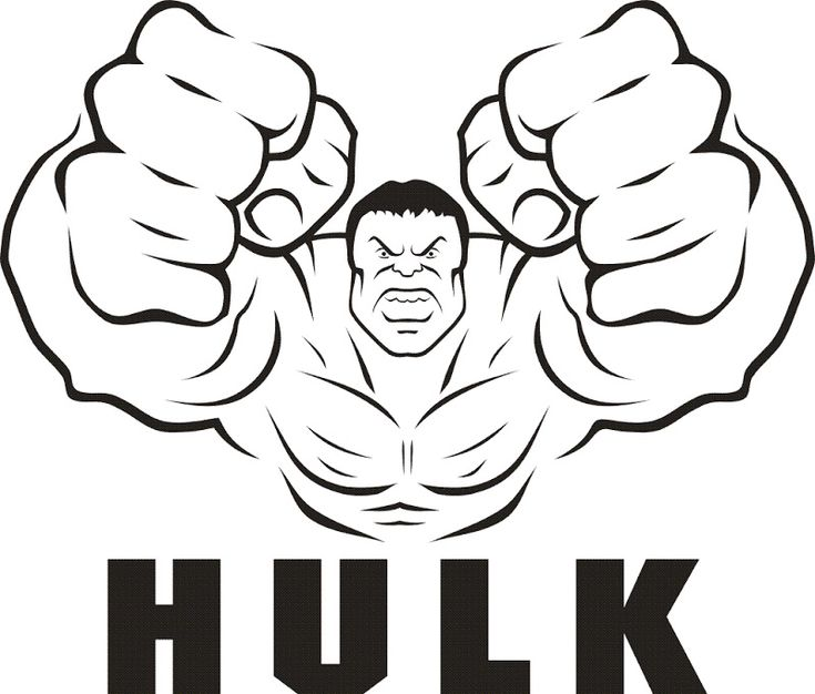 Incredible Hulk Coloring Pages Printable http