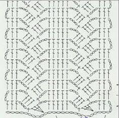 1000+ ideas about Crochet Scarf Diagram on Pinterest