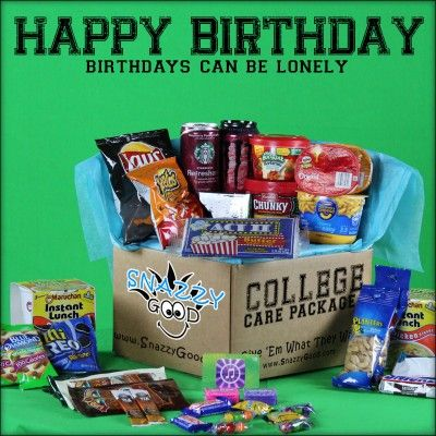 College Care Package Happy Birthday Chips 2 Instant