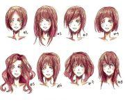 anime hairstyles hair