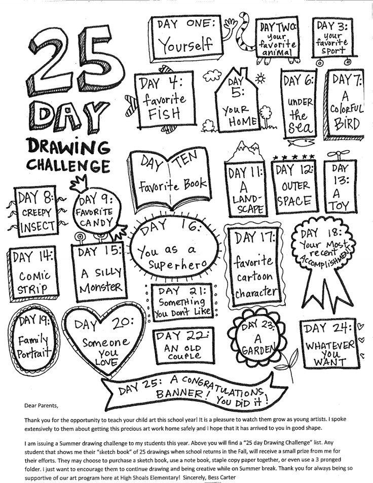 Doodles, Calendar and Journals on Pinterest