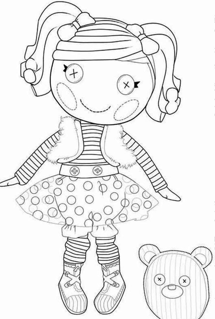 Print or Download Lalaloopsy Free Printable Coloring Pages