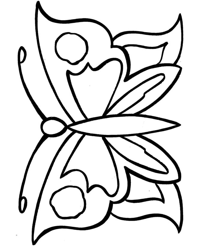 25+ best ideas about Simple Butterfly Drawing on Pinterest