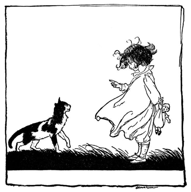 Art by Arthur Rackham (1913) from the book, OLD NURSERY