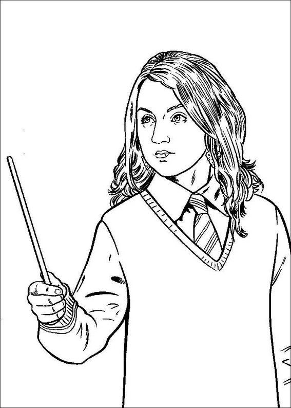 12 best images about Harry Potter Coloring Pages on