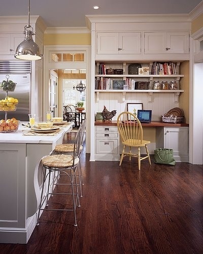 25 best ideas about Kitchen office spaces on Pinterest