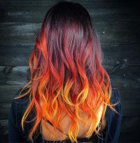 Best 25+ Fire hair ideas on Pinterest | Fire ombre hair ...
