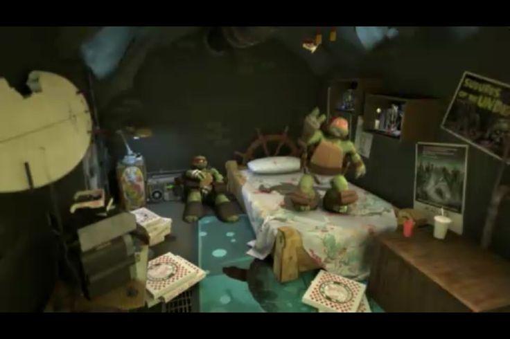 Mikeys room  Nicks Teenage Mutant Ninja Turtles  Pinterest