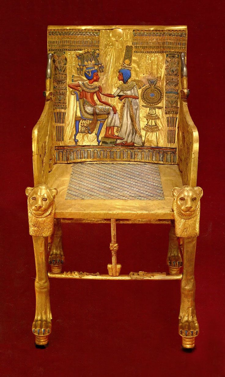 King Tut throne OUR PROPERTY STOLEN BY THE EYGPTIAN