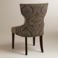 World Market Maxine Chair Diy Rocking Cushions Shitake | Products And Chairs