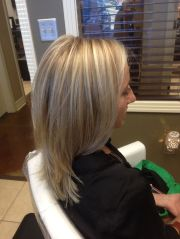 paul mitchell color. 3 tone blonde