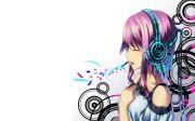 punk anime girl headphones - google
