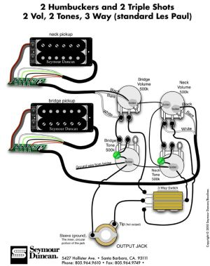 Wiring Diagrams Seymour Duncan  http:www