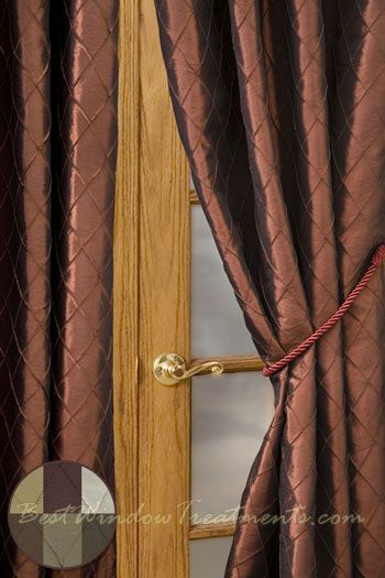 Colors Curtains and Copper on Pinterest