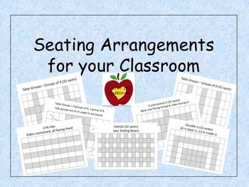 28 best images about Classroom Seating on Pinterest