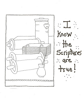 17 Best images about LDS Children's coloring pages on