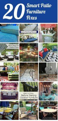 1000+ ideas about Patio Furniture Redo on Pinterest ...