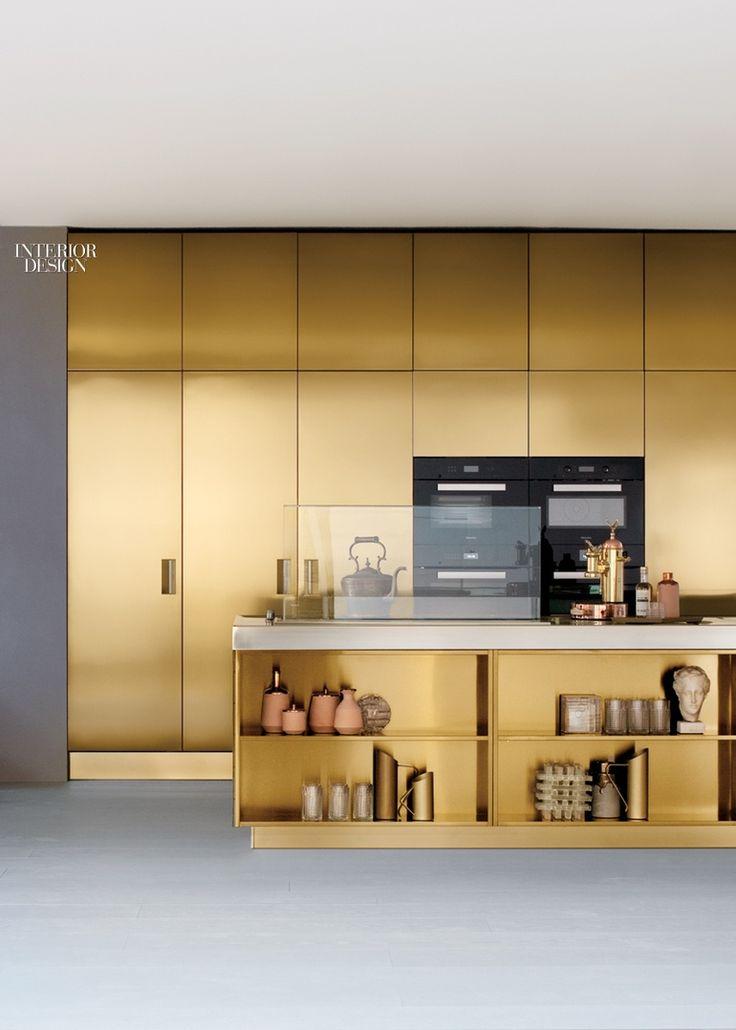 25 Best Ideas about Gold Kitchen on Pinterest  Gold