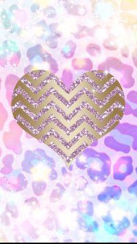 Pink girly love | heart wallies | Pinterest | Wallpapers ...