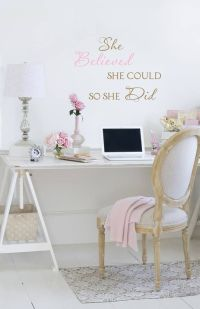 25+ best ideas about Pink Office on Pinterest | Cute ...