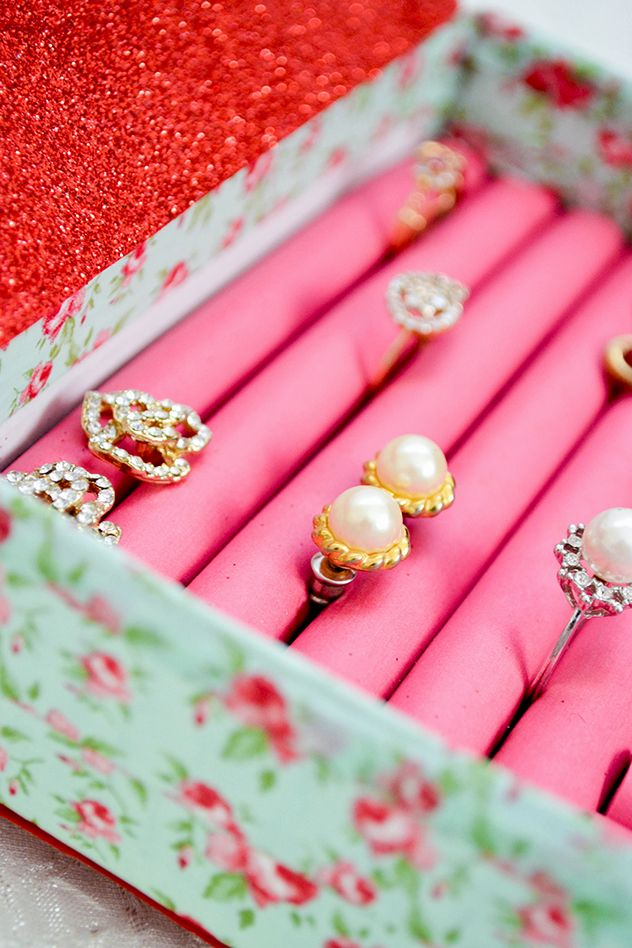 DIY Jewellery Box - Useful Wedding Gift