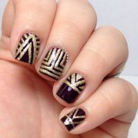 Art Deco Nails-GATSBY | Roaring 20's + Party | Pinterest ...