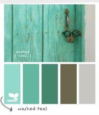 Washed Teal Color Scheme | Color Inspiration ...