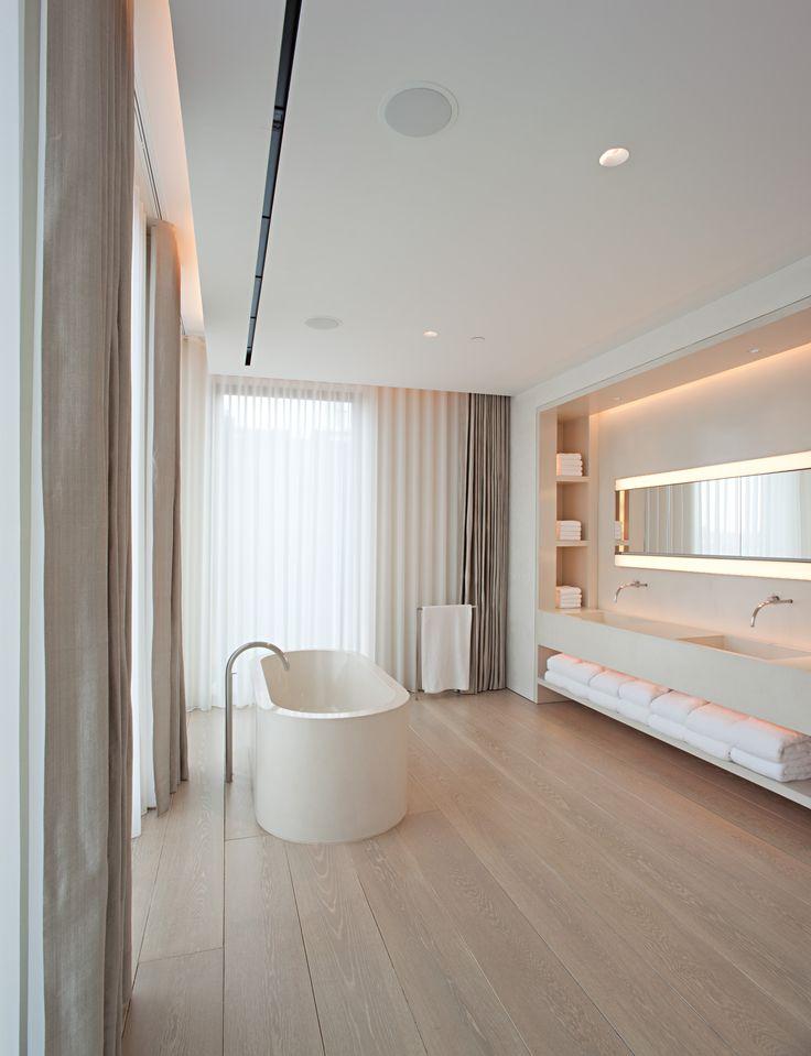 John Pawson  Schrager Apartment  Moderne Badezimmer