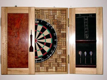 Dart Board Cabinet Plans  WoodWorking Projects  Plans