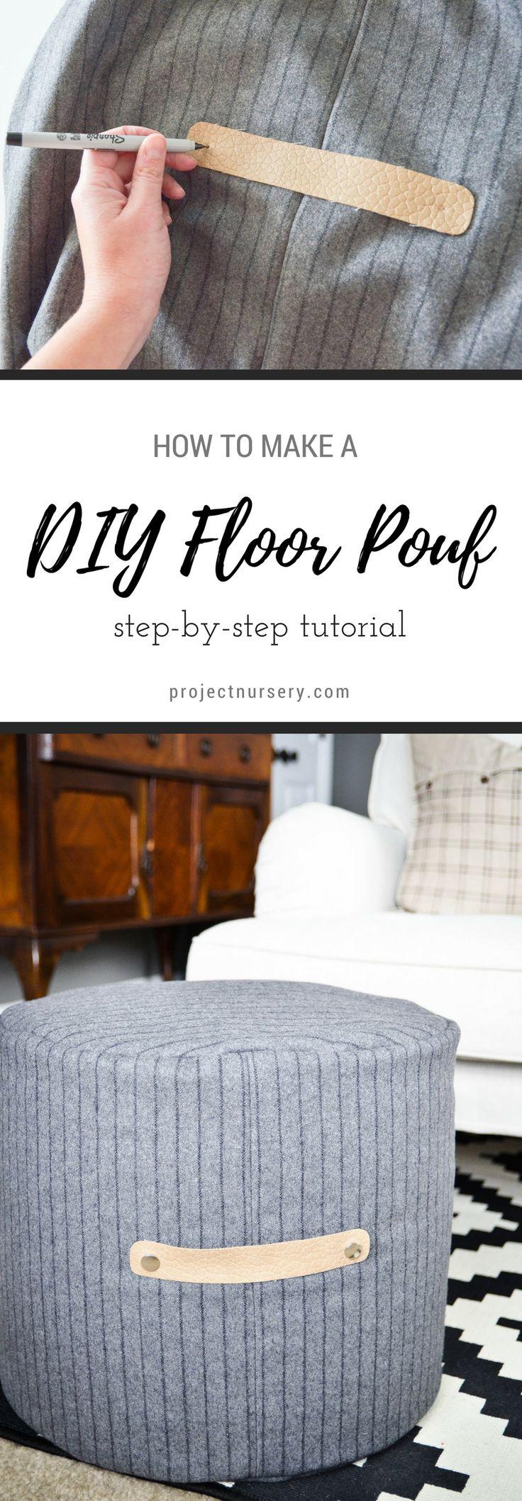 Best 25 Floor Pouf ideas on Pinterest  Diy pouf Crochet