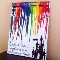 Best 20+ Disney Crayon Art ideas on Pinterest | Melted ...